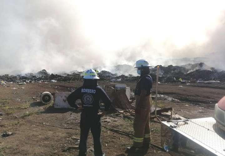 Los vertederos de los distritos como Chitré, Pesé, Los Santos, Las Tablas y Guararé han sufrido incendios sobre todo en la temporada seca.