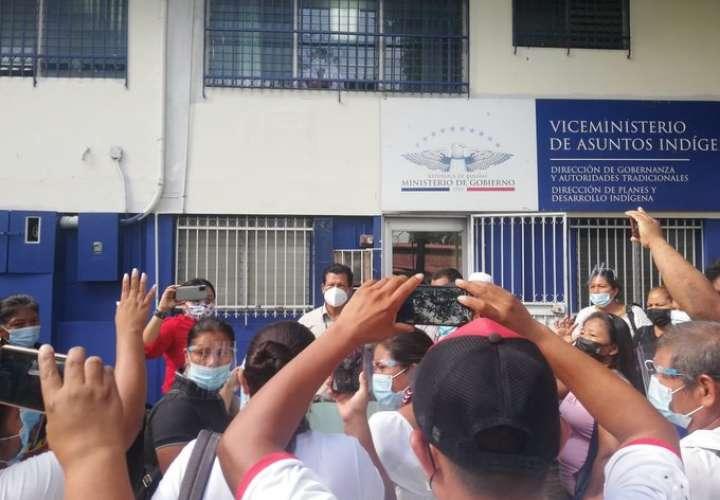 Autoridades electas de Congreso de  Alto Bayano exigen reconocimiento de MINGOB