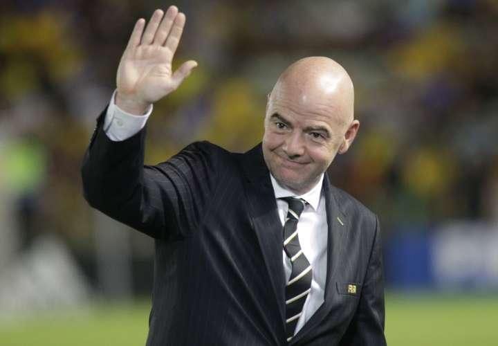 El presidente de la FIFA Gianni Infantino. Foto: EFE