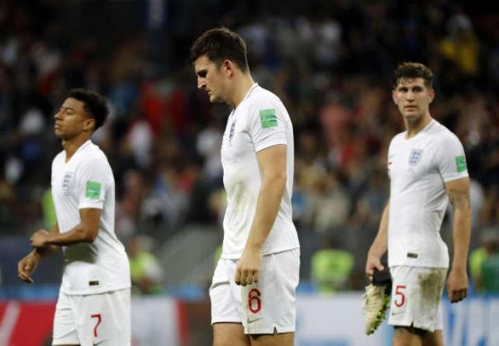 Los ingleses buscaban disputar su segunda final en su historia en los mundiales.