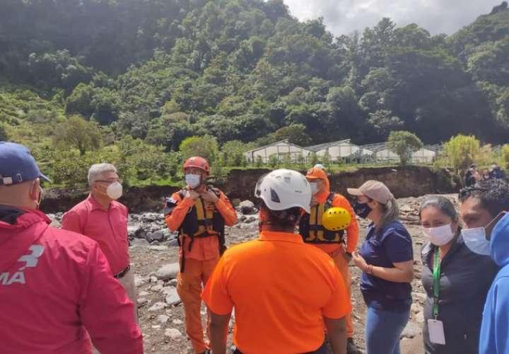 Más de 1,000 personas albergadas tras lluvias en Chiriquí, Bocas y zona comarcal