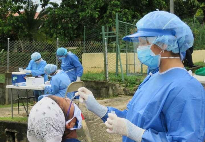 Intensifican hisopados en Panamá Oeste