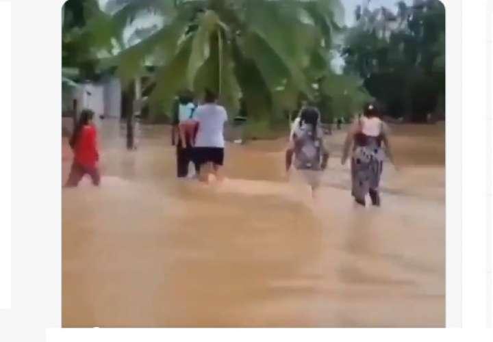 Evacuaciones en Chiriquí ante mal tiempo y crecida de ríos