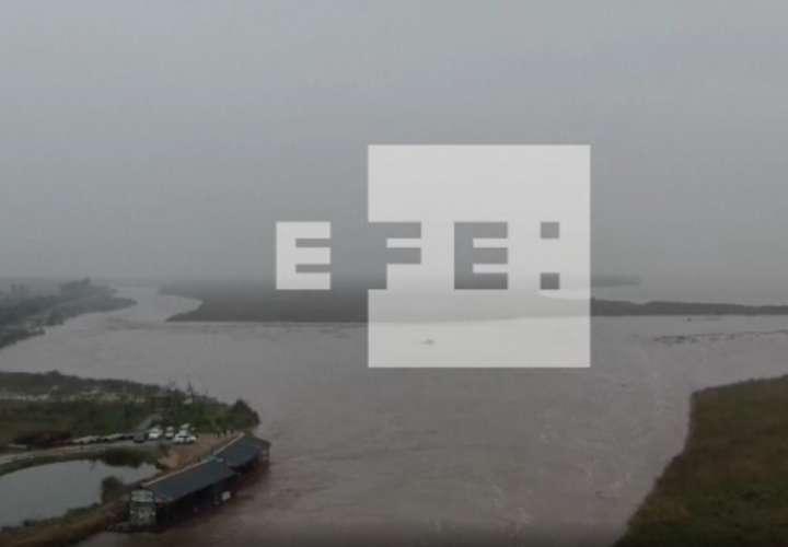 Las continuas precipitaciones en la provincia central china de Shanxi causaron la evacuación de 120.000 personas