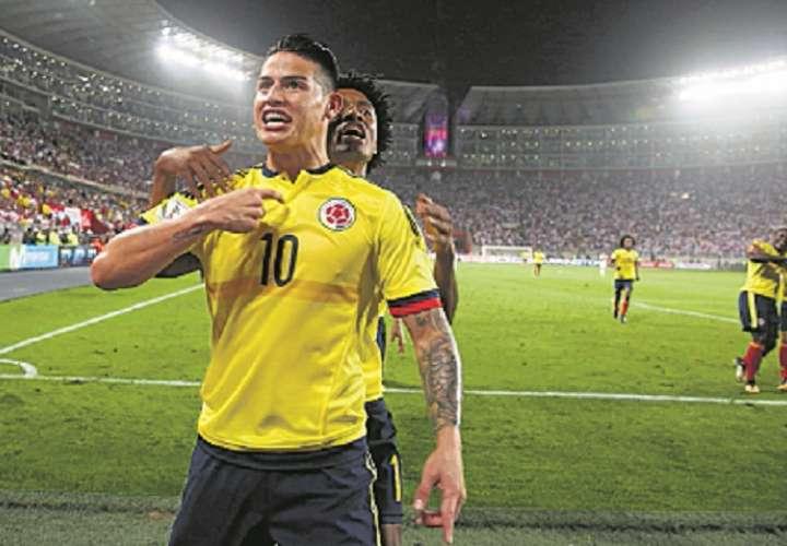 James no había sido tomado en cuenta desde la Copa América.. Foto: AP