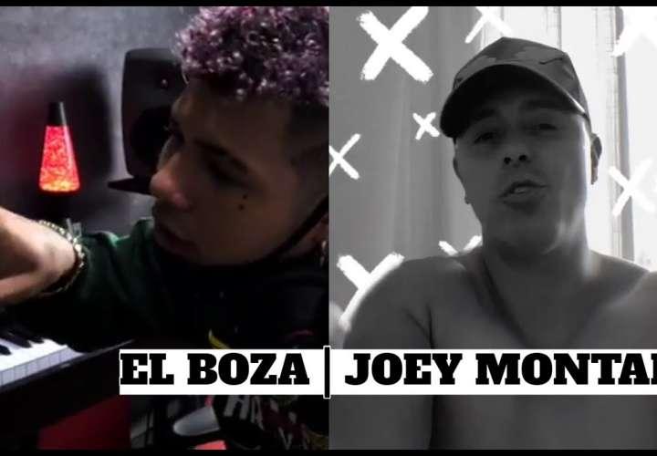 Joey Montana prende las redes y prepara plena con el Boza