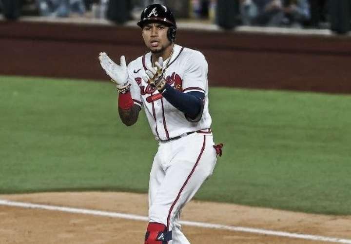 Johan camargo ha aprovechado la oportunidad de jugar con los Bravos de Atlanta. Foto: AP
