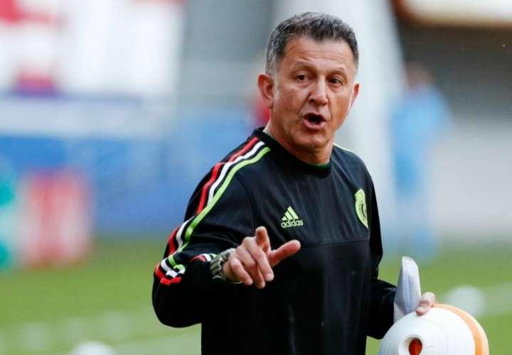 Juan Carlos Osorio dirigió al Tri durante el Mundial Rusia 2018./ EFE