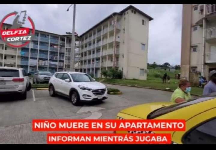 Muere niño mientras jugaba en su apartamento en Altos de Los Lagos