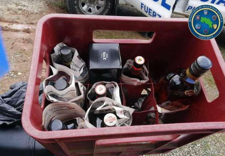 Contrabando de guaro en la frontera tico-panameña no lo para nadie