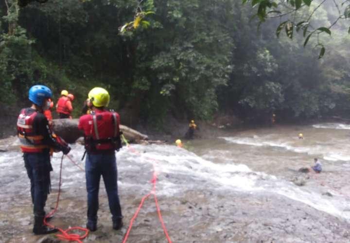 Sinaproc suspende búsqueda de quinceañera arrastrada por cabeza de agua
