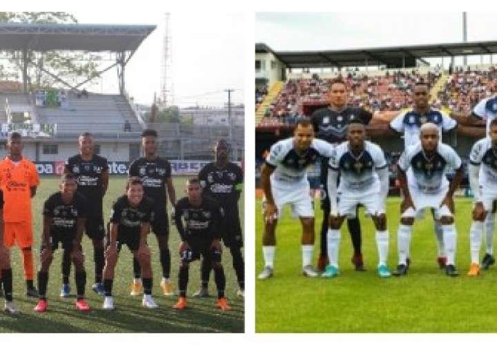 Club Deportivo del Este (izq.) y el Veraguas CD, buscarán el cupo a las Semifinales. Fotos: LPF