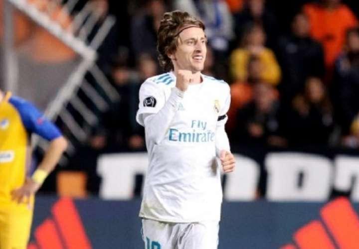 Lukas Modric también ganó el