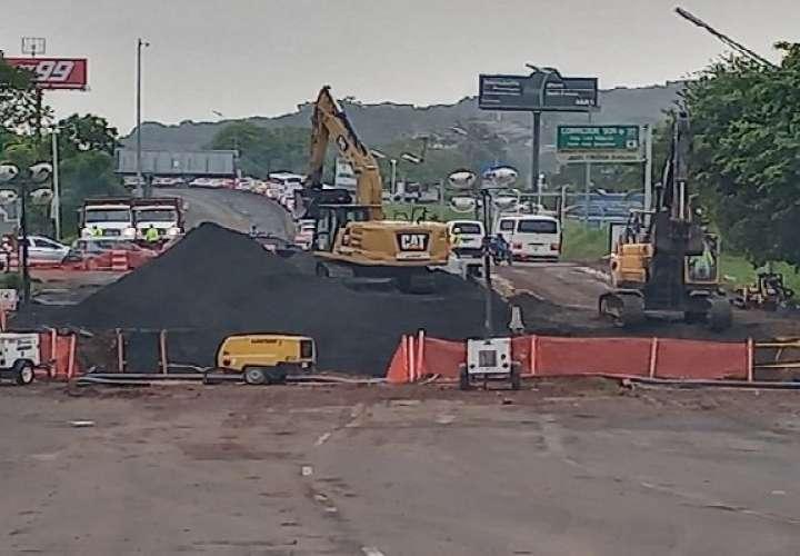 Hasta el lunes podrían extenderse trabajos en vía Interamericana, Arraiján