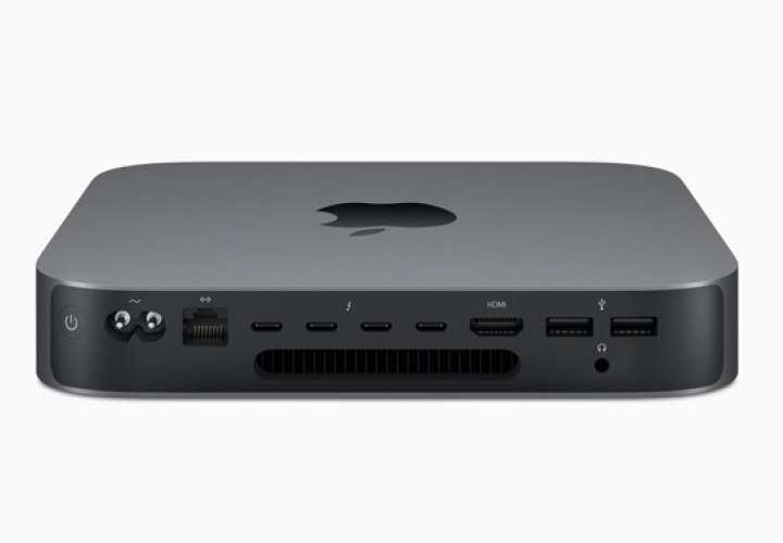 Apple estaría trabajando en una nueva versión mejorada de su línea de aparatos Mac Mini. Imagen: apple.com
