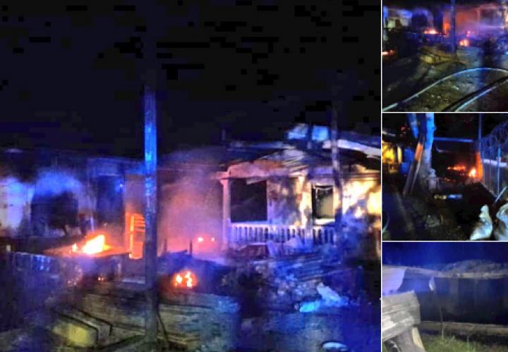 Fuego arrasa con ebanistería y casa en Antón
