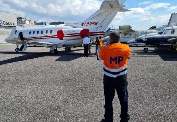 Entregarán documentación para que devuelvan avión a Martinelli