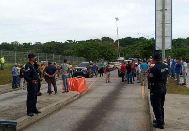 Cierran ingreso a Merca Panamá por inseguridad
