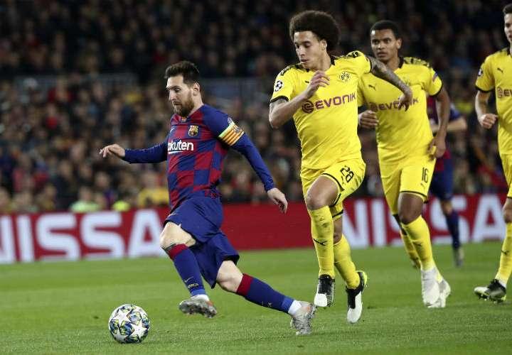 Barcelona asegura el primer lugar de su grupo en Liga de Campeones de la UEFA