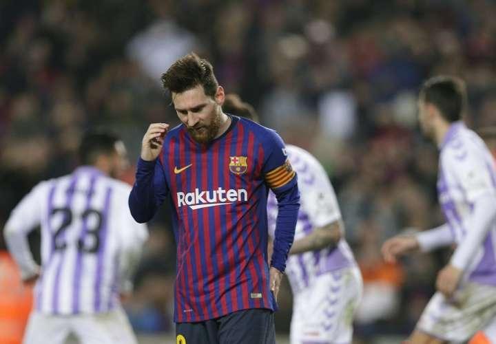 Goleadores del Barcelona se enfrían y en mal momento