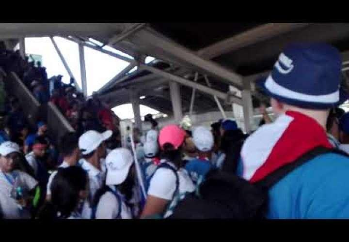 El metro de Panamá transportó 2,6 millones de personas durante la JMJ