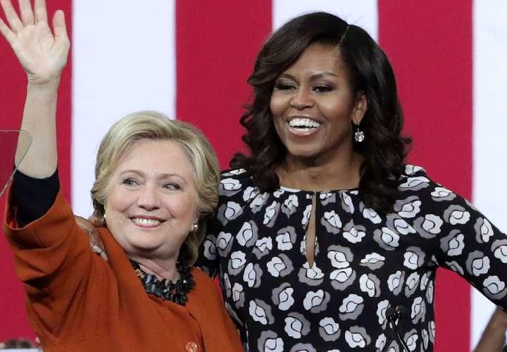 Michelle Obama destrona a Hillary Clinton como la mujer más admirada