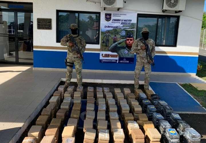 Arrestan a tres colombianos que transportaban  367 paquetes en cocaína