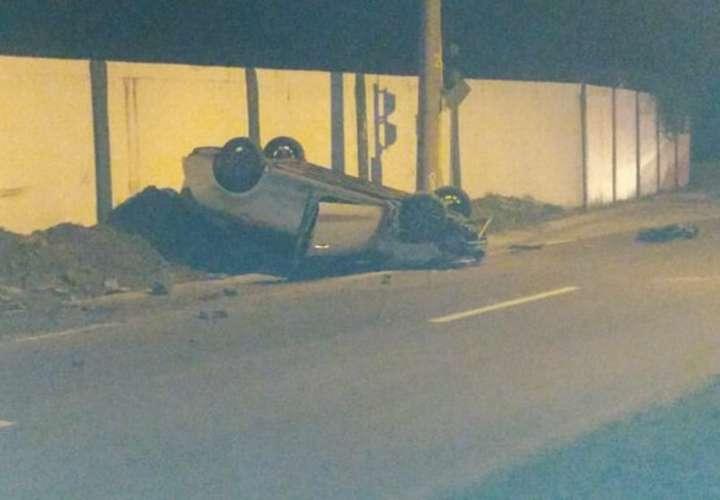 Robo de automóvil concluye en persecución y muerte en Ancón (Video)