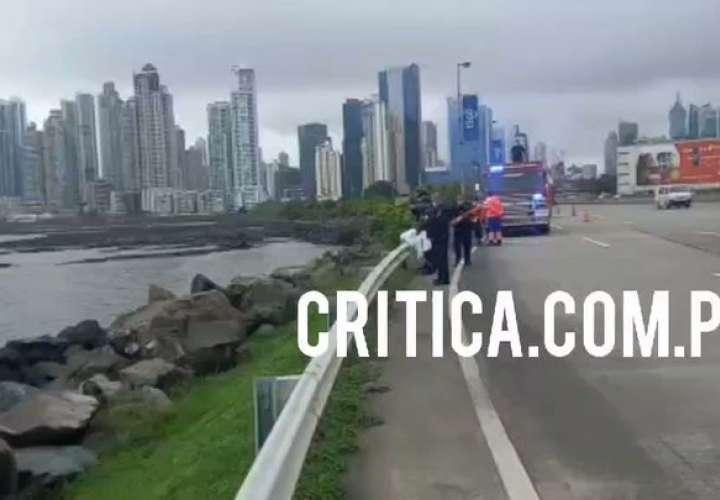 Encuentran cuerpo de una mujer flotando en Bahía de Panamá  [Video]