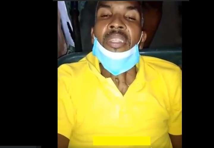 Recluso que clamó ayuda muere  en el hospital (Video)