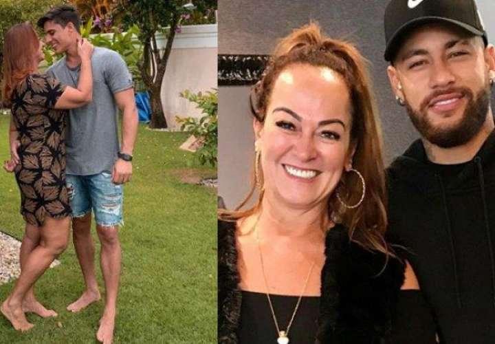 Madre de Neymar deja a su novio por ser bisexual
