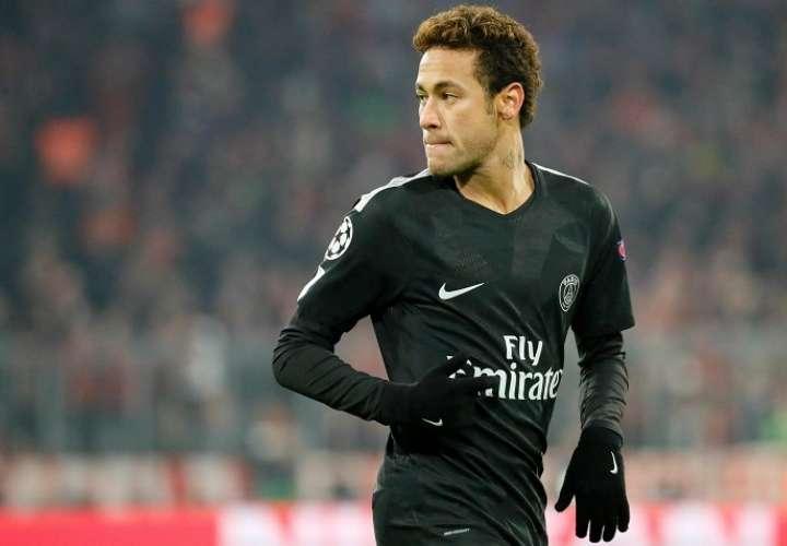 El atacante se mostró optimista sobre la actuación del París Saint-Germain. Foto. EFE