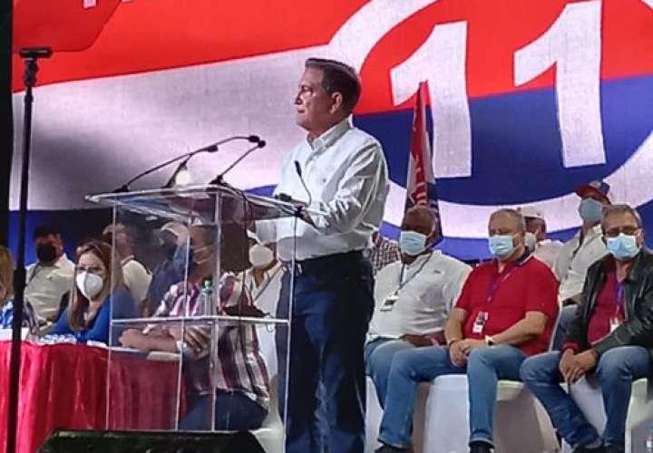El presidente Laurentino Corrizo habló como cortesía de sala en el Directorio Nacional