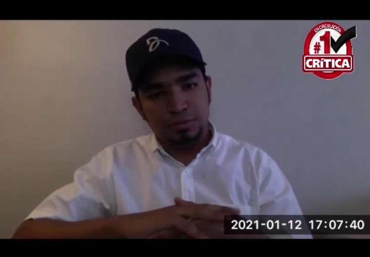 Javier Nuñez, uno de los estudiantes que fue expulsado de la Usma el año pasado.