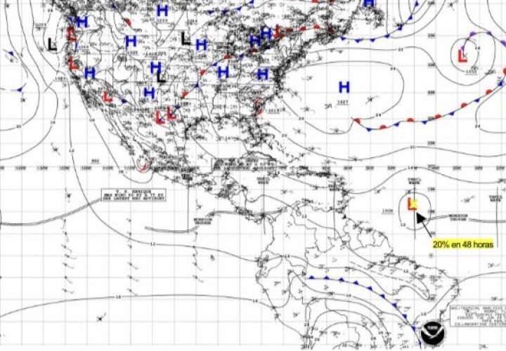 Lluvias hasta jueves por paso de Onda Tropical #10