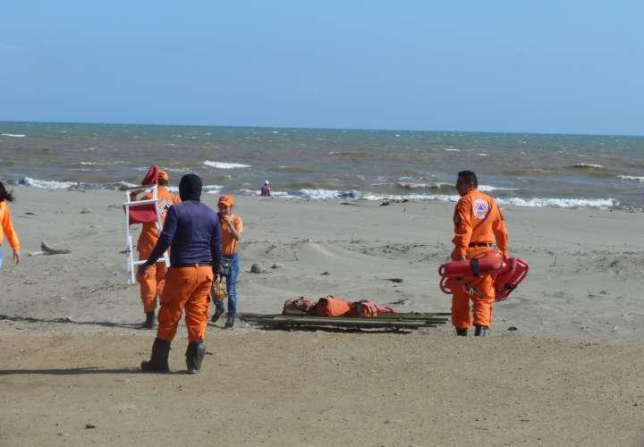 Advierten a pescadores y bañistas por mar de fondo en costas santeñas