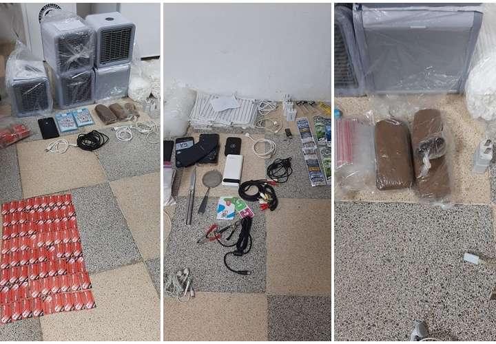 Incautan drogas, armas y celulares durante requisa de la cárcel de Tinajita