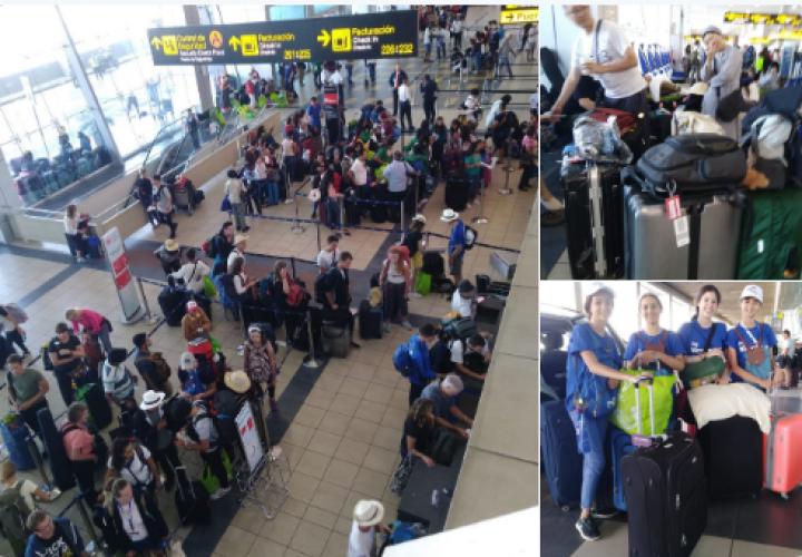 Miles de peregrinos retornan a sus países después de participar en la JMJ