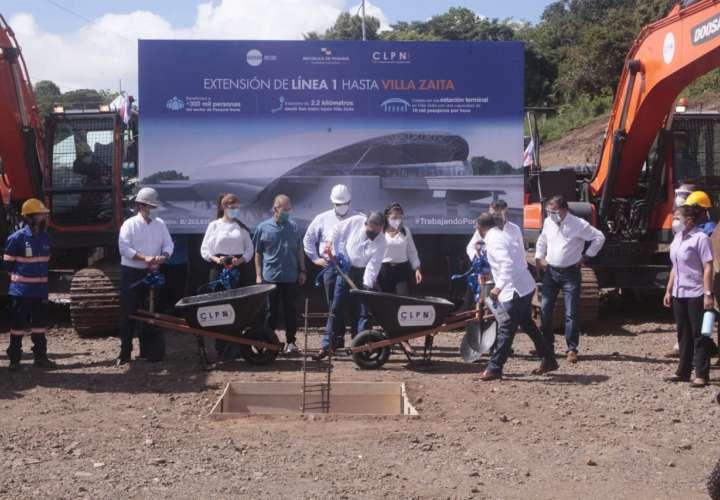 Arranca extensión de la Línea 1 del metro hasta Villa Zaita  [Video]