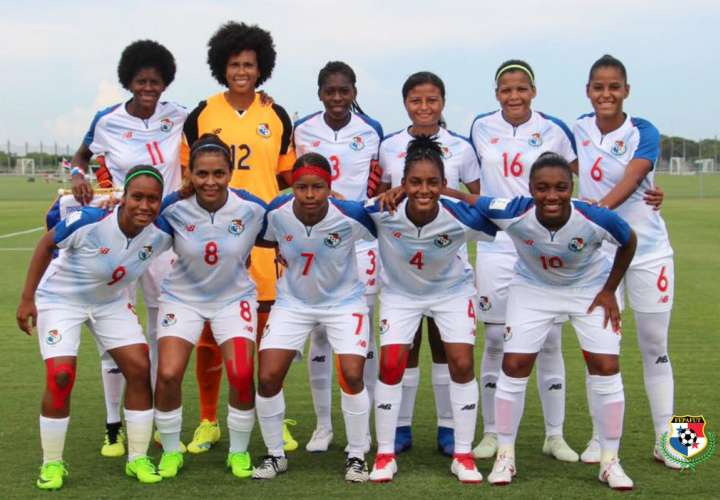 La Selección Femenina de Fútbol de Panamá. Foto: Fepafut