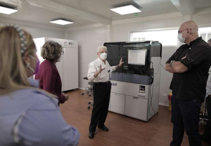 Instituto Gorgas cuenta con laboratorio modular para diagnóstico de virus