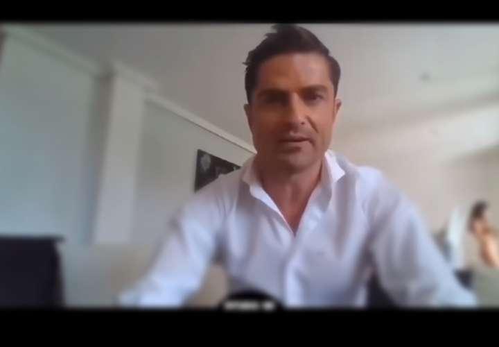Escándalo: descubren periodista infiel cuando mujer aparece en videollamada