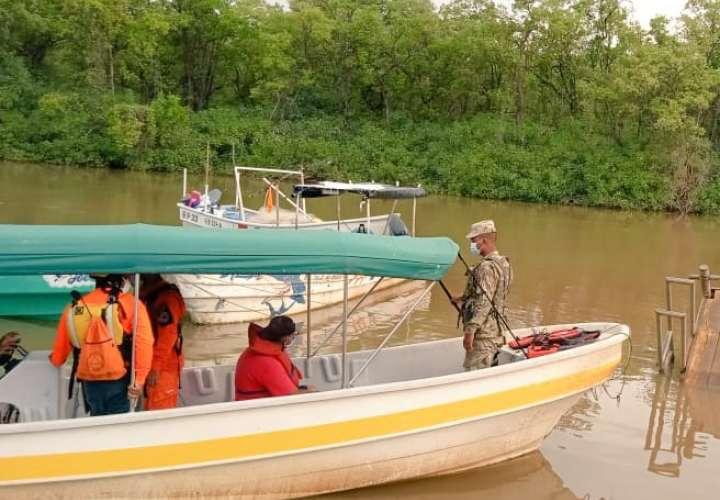 Inician búsqueda de pescador desaparecido en Herrera