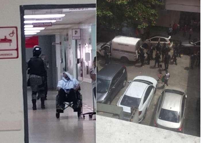 Delincuentes armados ingresan al Santo Tomás tras cometer un robo