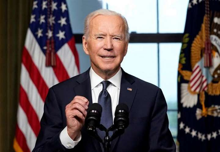 En la imagen el presidente estadounidense, Joe Biden. EFE