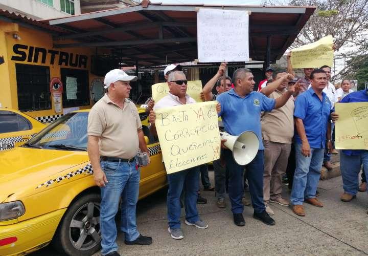 Taxistas de Panamá Oeste reclaman elecciones y auditoría forense en sindicato