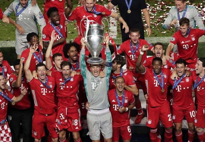 El Bayern alcanza su sexto título de la Champions. /EFE