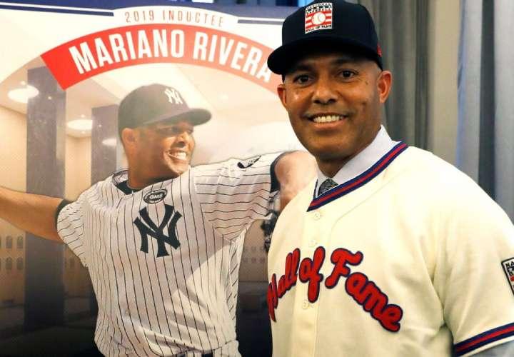 Se cumple hoy un año del ingreso de Mariano Rivera al Salón de la Fama