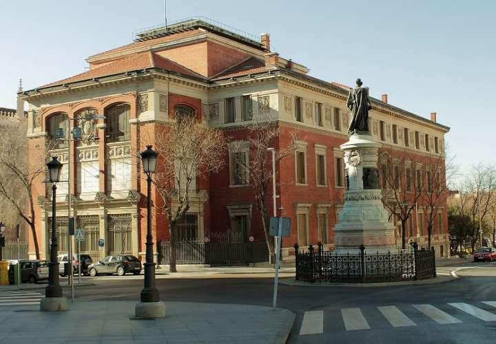 Vista externa de las instalaciones de la Real Academia de la Lengua Española.  Foto: Wikipedia