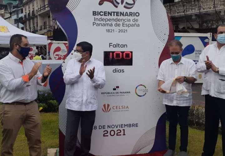 Activan otro reloj con cuenta regresiva hacia el Bicentenario